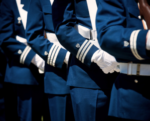 USCG Auxiliary Color Guards