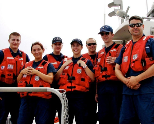 Boat Crew outfitted for operations