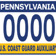 PA Auxiliary License Plate Sample