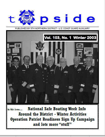 Topside 2003 Volume 1