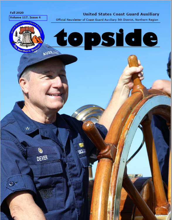Picture and Link to Fall 2020 Topside Magazine