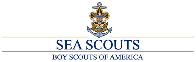 Auxiliary Sea Scouts Banner